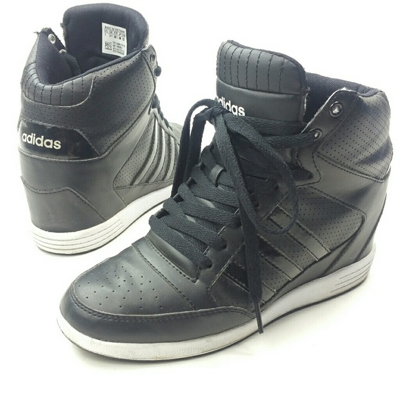 a2f7249be112 adidas Shoes - Adidas Neo super wedge c black fteeht sneaker 7